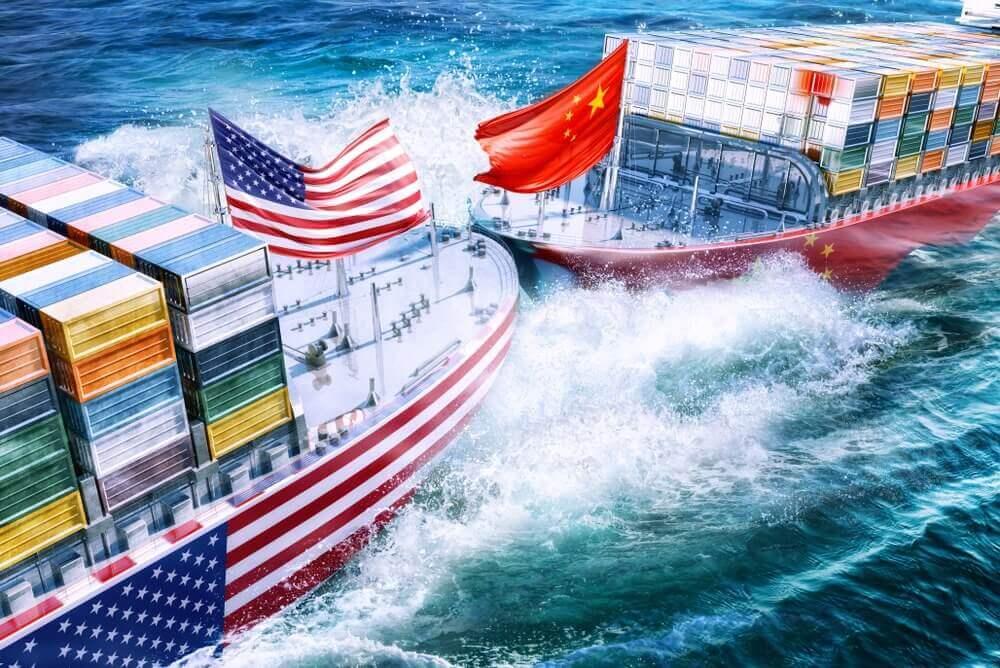 dampak perang dagang as dan china